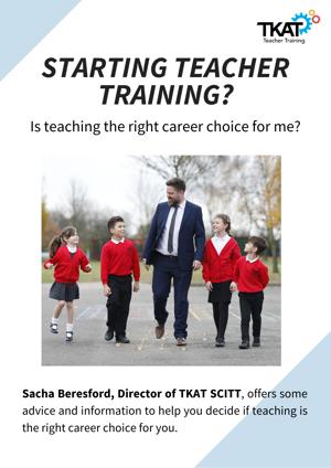 Starting Teacher training